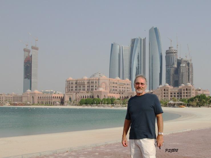 Marina side of Emirates Palace, Abu Dhabi