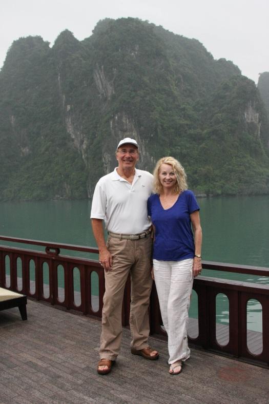 Steve & Pamela HaLong Bay, Vietnam 2010