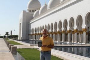 The book returns to the Sheikh Zayed Grand Mosque