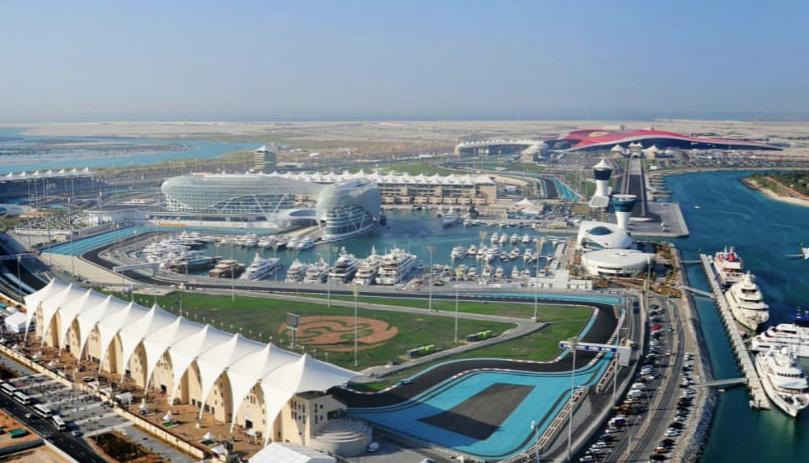 Yas Island Marina, Formula One Track, Yacht berthing