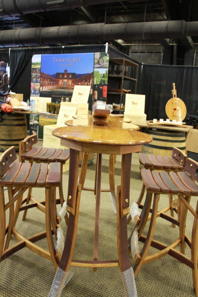 Three top table and chairs